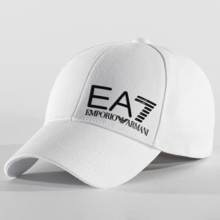 EA7 - Casquette Train Baseball Hat 275936-0P010 Blanc