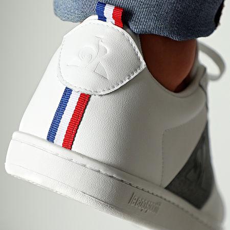 Le Coq Sportif - Baskets Court Classic Strap 2010189 Optical White Grey