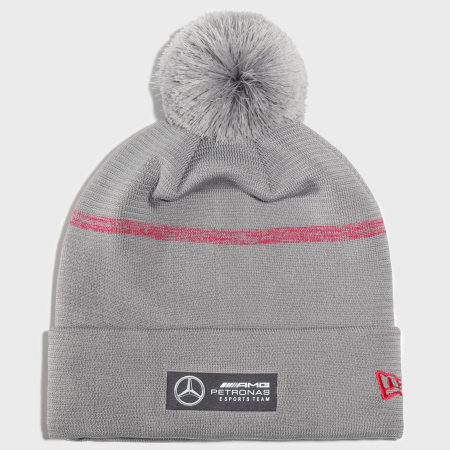 New Era - Bonnet AMG Petronas Bobble Cuff 12353437 Gris Chiné