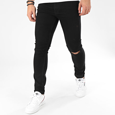 Only And Sons - Jean Skinny Warp 6462 Noir
