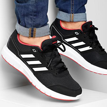 adidas - Baskets Duramo Light FV6058 Core Black Cloud White Glory Red