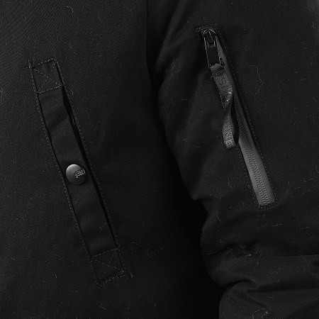 Sixth June - Parka Fourrure M2000SOW Noir