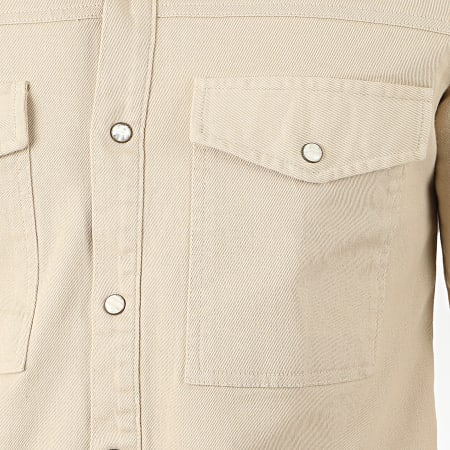 Uniplay - Chemise Manches Longues 182 Beige