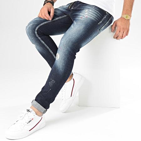 Uniplay - Jean Skinny 122 Bleu Brut