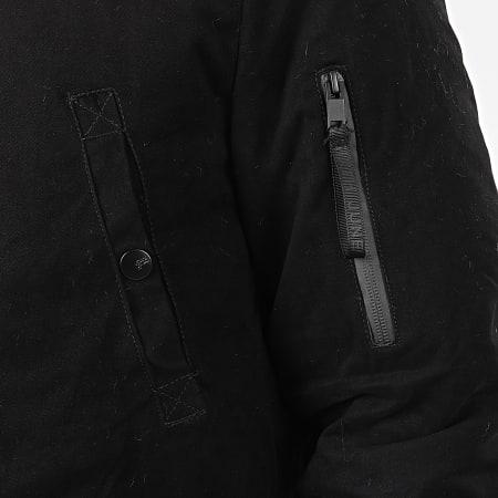 Sixth June - Parka Fourrure M2000SOW Noir Beige
