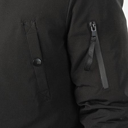 Sixth June - Parka Fourrure M3310SOW Noir Beige
