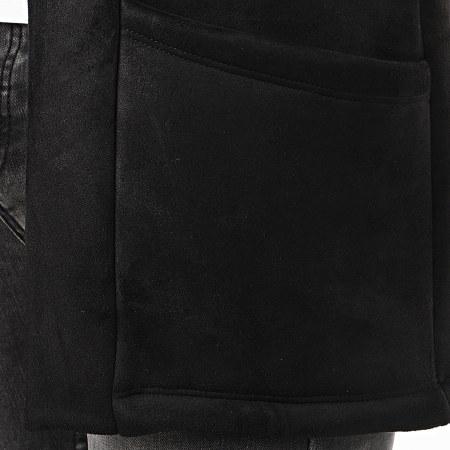 Aarhon - Gilet Oversize 19602 Noir