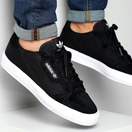 adidas - Baskets Continental Vulc FU9471 Core Black Cloud ...
