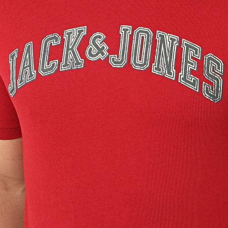 Jack And Jones - Tee Shirt Logo Bordeaux