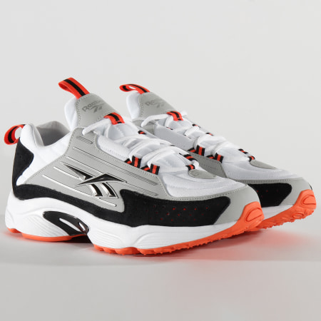 Reebok - Baskets DMX Series 2200 EH1801 White Vivid Orange Pur Grey 2