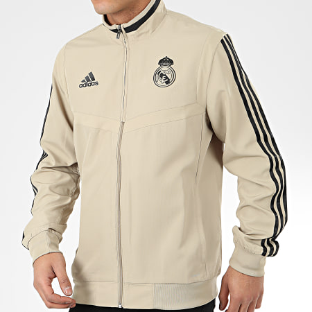 adidas Veste Zippée A Bandes Real Madrid Presentation