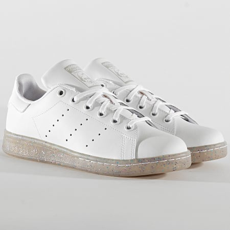 adidas - Baskets Femme Stan Smith EE7574 Cloud White Grey ...