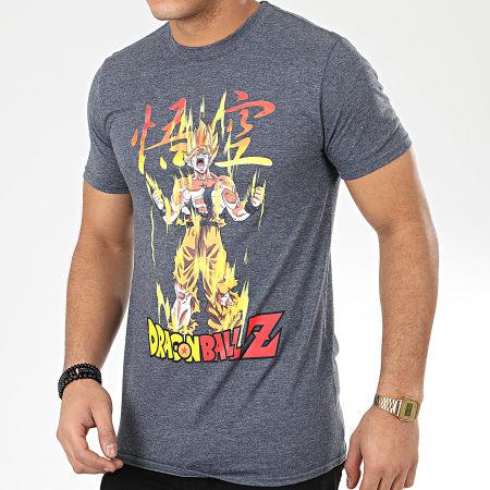 Dragon Ball Z Tee Shirt Goku Super Saiyan Gris Anthracite