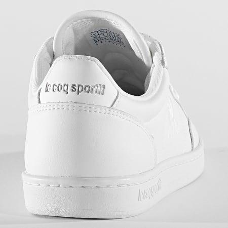 Le Coq Sportif - Baskets Femme Court Clay 2010476 Optical White Silver