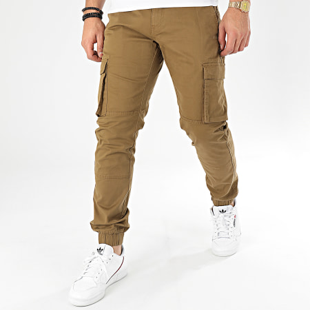 Only And Sons - Pantalon Cargo Cam Stage Vert Kaki