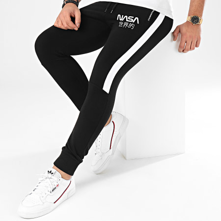 Final Club x NASA - Pantalon Jogging Japan Exploration Avec Patch 341 Noir
