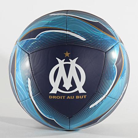 Puma - Ballon De Foot Olympique De Marseille 083412 Bleu Clair Bleu Marine