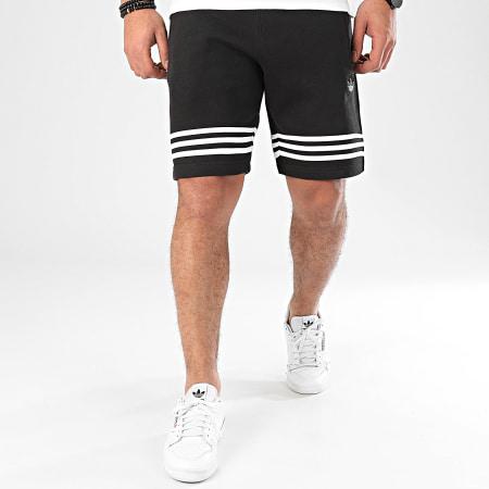 adidas Short Jogging Outline FM3877 Noir Blanc