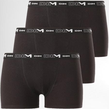 Dim - Lot De 3 Boxers D6596 Noir