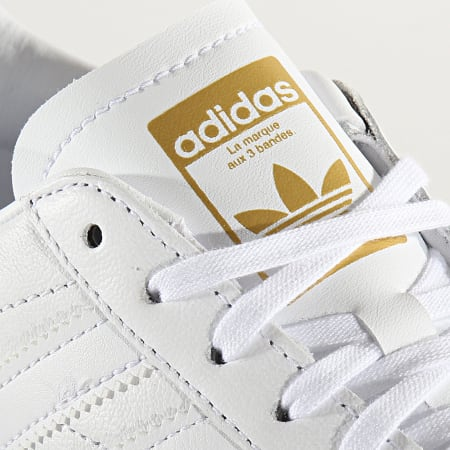 adidas - Baskets Femme Team Court EF6049 Footwear White Gold