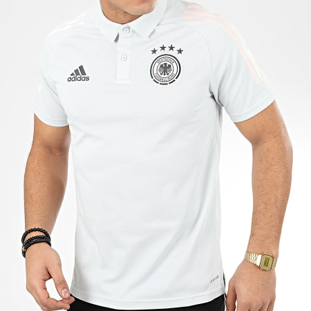 adidas Polo Manches Courtes A Bandes DFB Allemagne FI0770