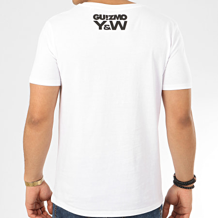 Guizmo - Tee Shirt Character Blanc Gris