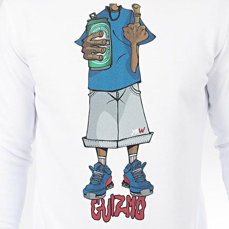 Guizmo - Sweat Crewneck Character Blanc Bleu