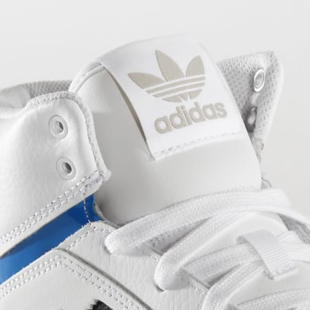 adidas - Baskets Montantes Drop Step EF7137 Footwear White Met Grey Glo Blue