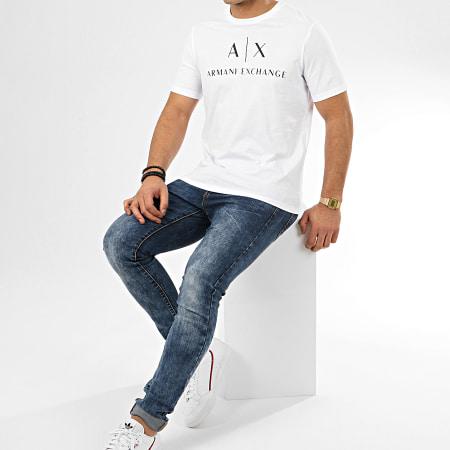 Armani Exchange - Tee Shirt 8NZTCJ-Z8H4Z Blanc