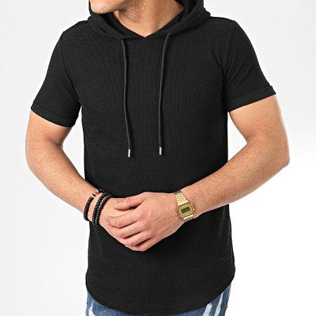 Project X - Tee Shirt Capuche Oversize 2010097 Noir
