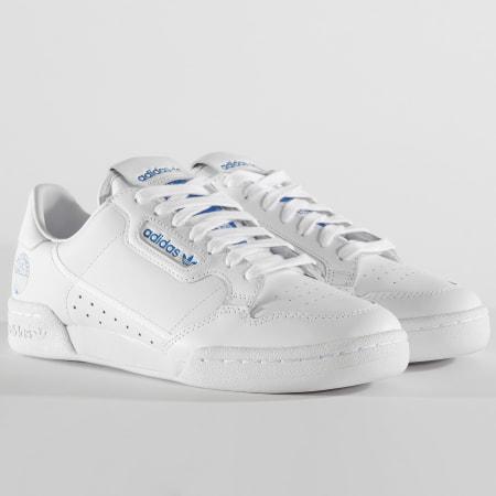 adidas - Baskets Continental 80 FV3743 Footwear White Blue Bird