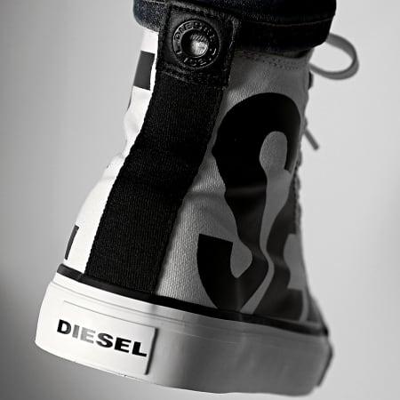 Diesel - Baskets Montantes S-Astico Y01993-P2468 Star White Black