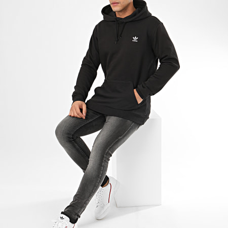 adidas - Sweat Capuche Essential FM9956 Noir