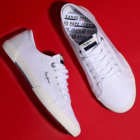 Pepe Jeans - Baskets Aberman Smart PMS30625 White
