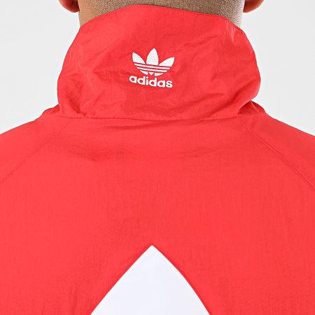 adidas Veste Zippée BG Trefoil FM9891 Rouge