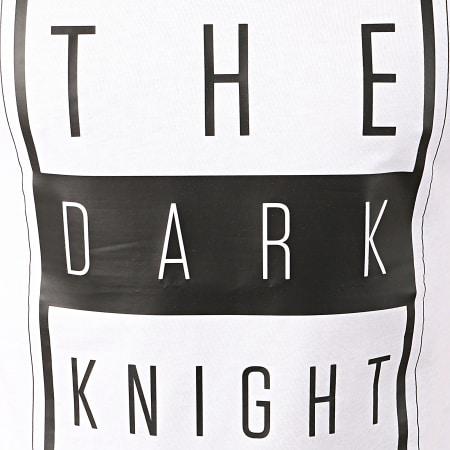 Batman - Tee Shirt Dark Knight Blanc