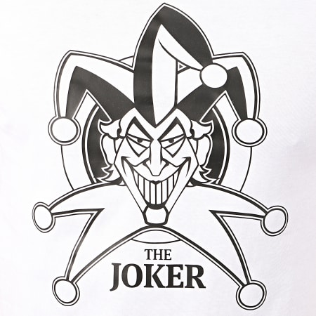 Batman - Tee Shirt The Joker Blanc