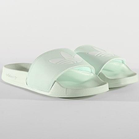 adidas - Claquettes Femme Adilette Lite FU9136 Vert ...