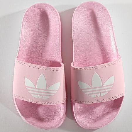adidas - Claquettes Femme Adilette Lite FU9139 Rose ...