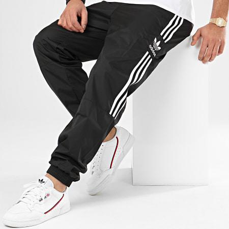 adidas - Pantalon Jogging A Bandes Ripstop FM9886 Noir