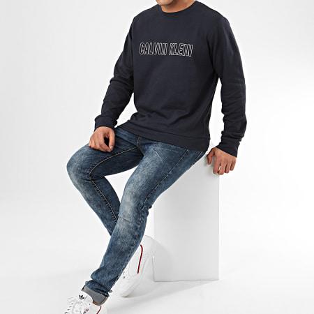 Calvin Klein - Sweat Crewneck W367 Bleu Marine