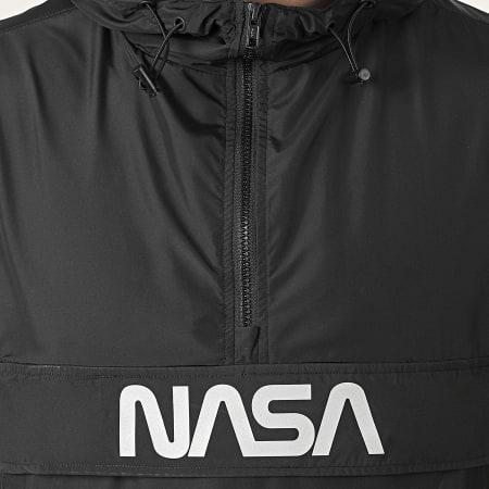 NASA - Coupe-Vent Skid Réflchissant Noir