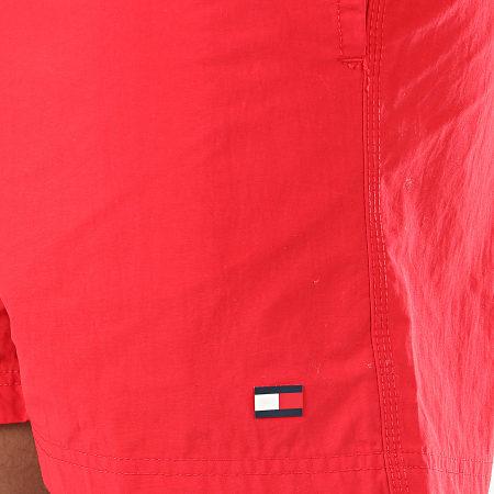 Tommy Hilfiger - Short De Bain Medium Drawstring 1080 Rouge
