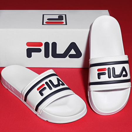Fila - Claquettes Femme Morro Bay Slipper 2.0 1010901 Blanc