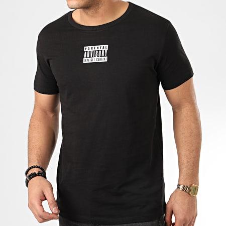 Parental Advisory - Tee Shirt Verso Noir