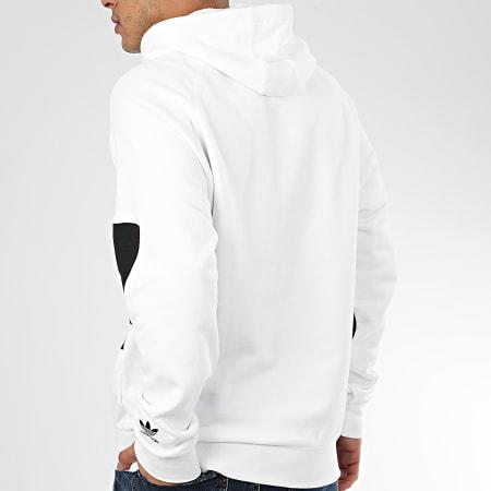 adidas - Sweat Capuche BG Trefoil FM9909 Blanc