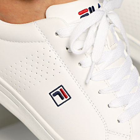 Fila Baskets Crosscourt 2 Low 1010276 White Dress Blue