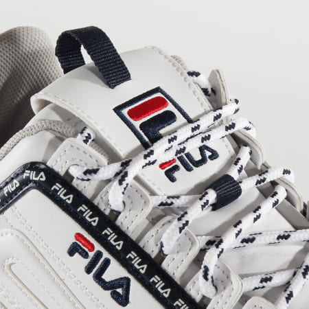 Fila - Baskets Femme Disruptor Logo 1010748 White Fila Navy Fila Red