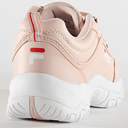 Fila Baskets Femme Strada Low 1010560 Rosewater