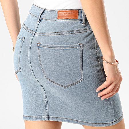 Vero Moda - Jupe Jean Femme Hot Seven Bleu Denim